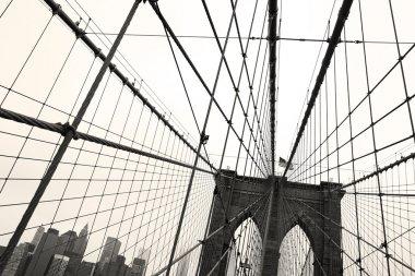 Brooklyn Bridge, Sepia