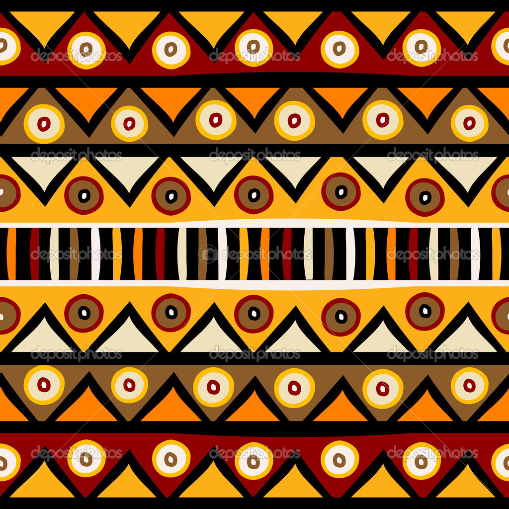 Fundo Africano tribal — Fotografias de Stock © hibrida13