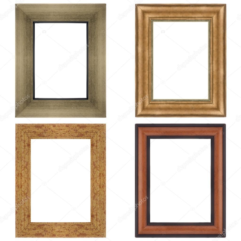 vier Bilderrahmen — Stockfoto © homydesign #34502915