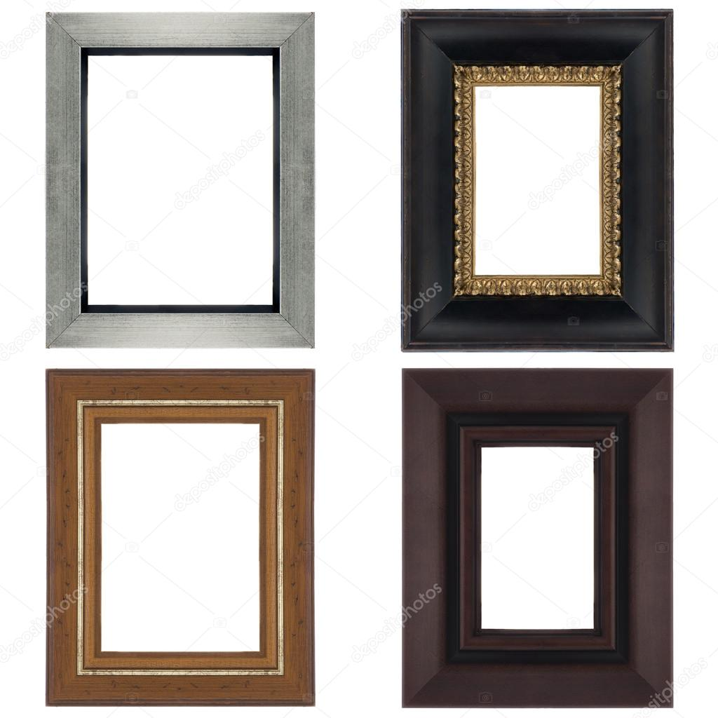 vier Bilderrahmen — Stockfoto © homydesign #34502981