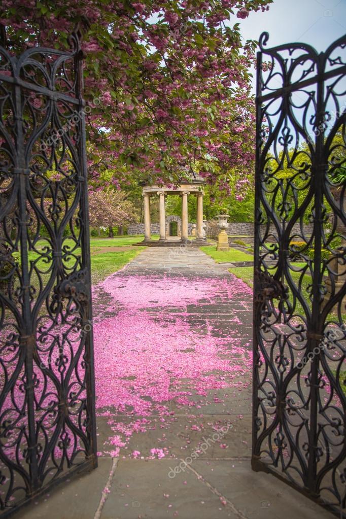 Spring Garden Scene