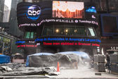 Výstavba New Yorku Times square