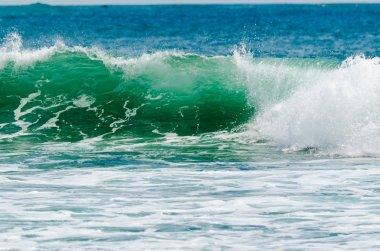 """Картина, постер, плакат, фотообои """"океанские волны в Солнечный день"""", артикул 22399127"""