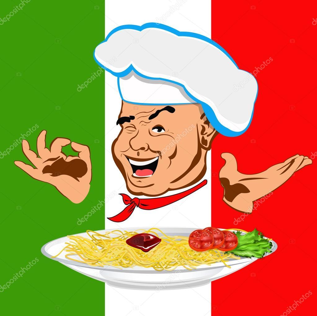 Fröhliche Spaghetti