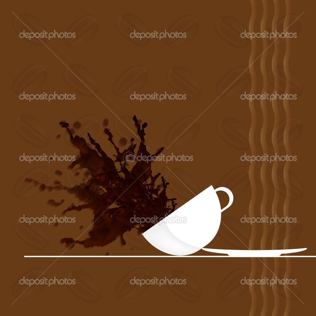 Caf backgroundstaurant negcios cardctor vetor de stock caf backgroundstaurant negcios cardctor vetor de stock reheart Choice Image