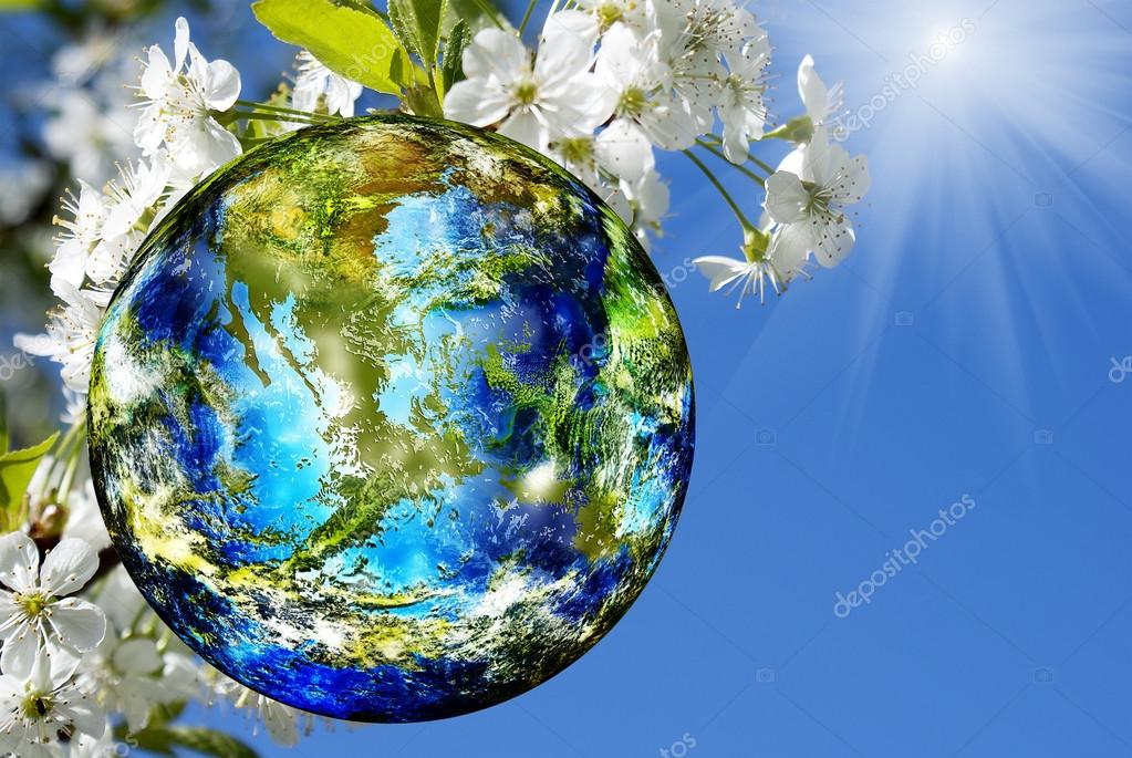 Earth day. Season nature.Spring background