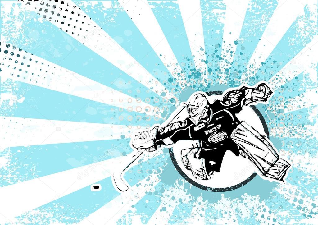 Фоны для создания открыток хоккей