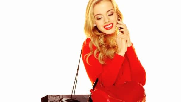 módní portrét stylové blondýna