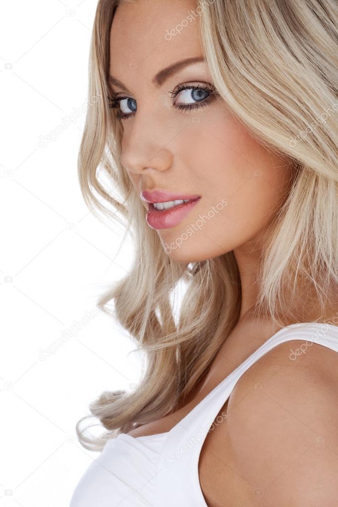 the beautiful blonde
