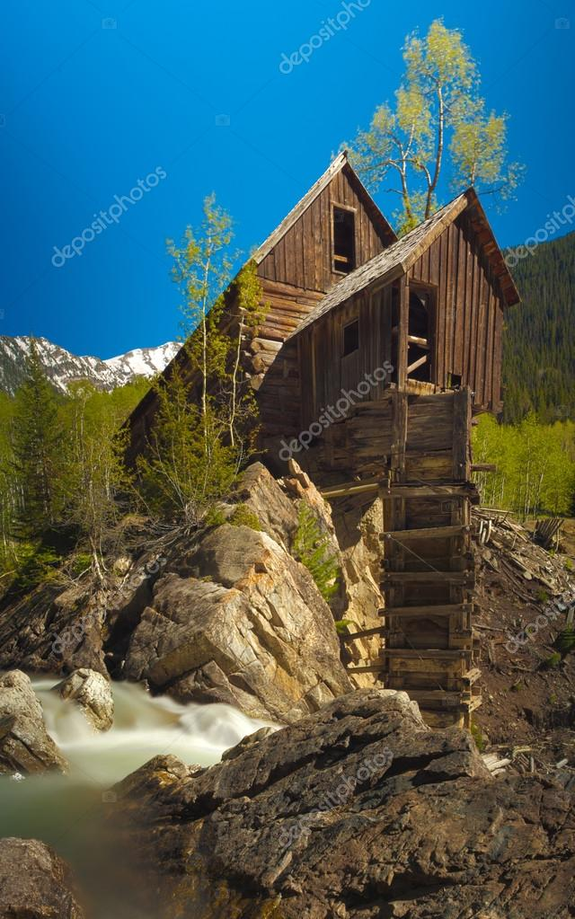 View of Crystal Mill and the Crystal River
