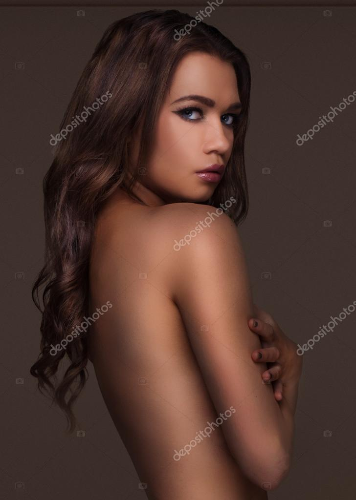 Beautiful sultry brunettes nude are not