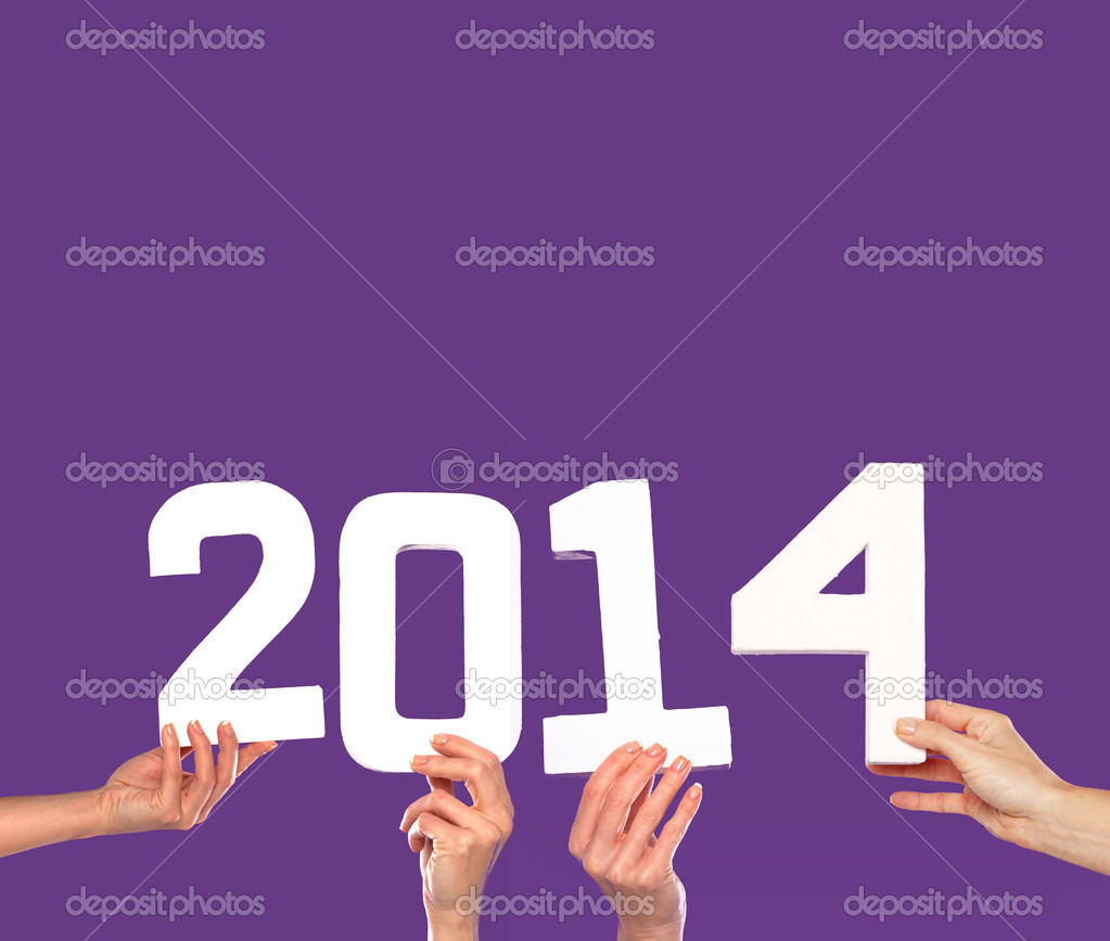 2014 new year greeting card on purple stock photo nelka7812 2014 new year greeting card on purple stock photo m4hsunfo
