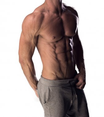 Man with a toned muscular physique