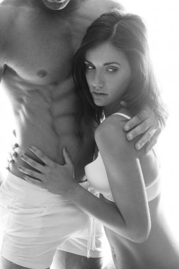Hot Couple Flaunting Sexually Attractive Bodies