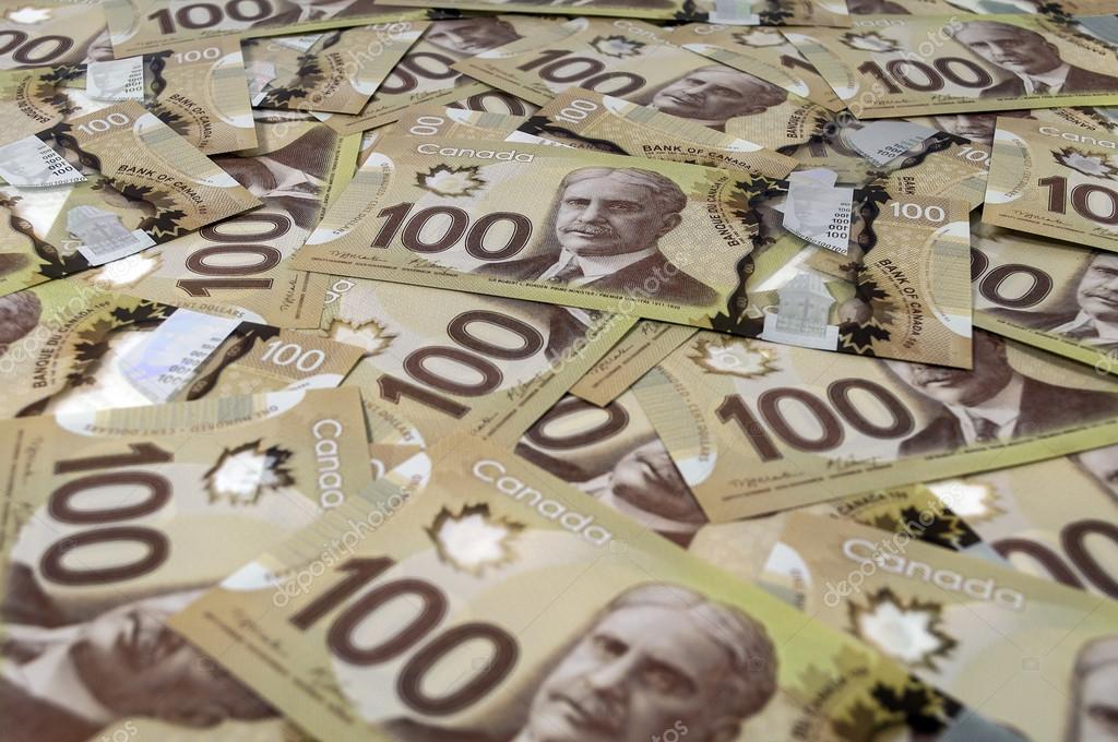 100 Kanada Doları Banknot Stok Foto Fer737ng 26509733
