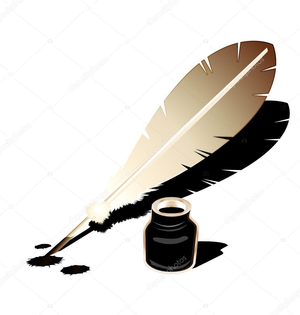картинки чернильница и перо