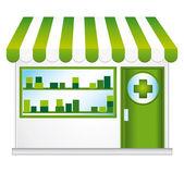 Apotheke. Convenience-store