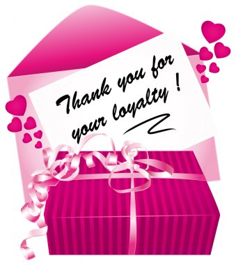 Thank you for your loyalty message.