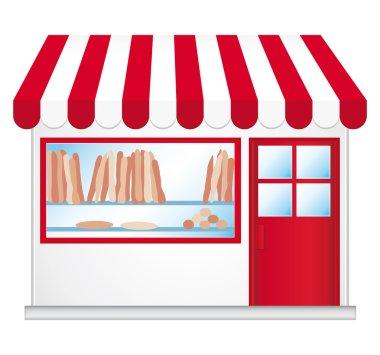 Little boulangerie. Cute convenience store.