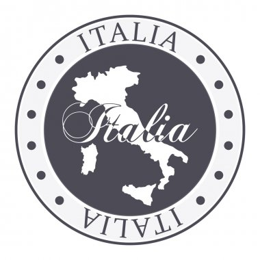 Italia stamp.