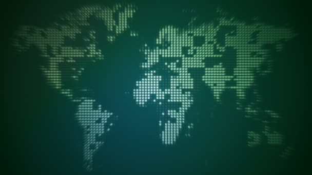 Mapa Dotty světa