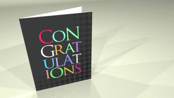 pozdravy karta Gratulujeme hd