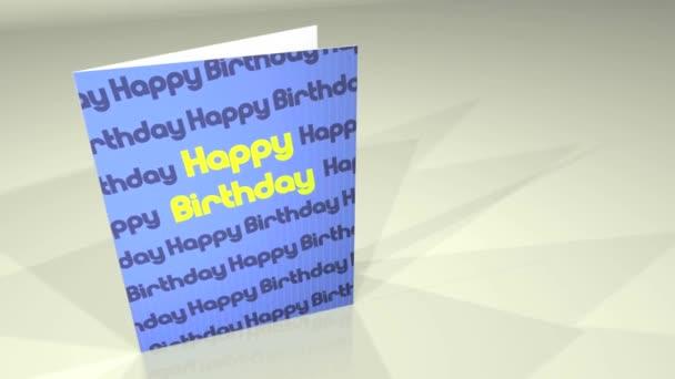 Greetings card happy birthday hd stock video enchantedstudios greetings card happy birthday hd stock video m4hsunfo