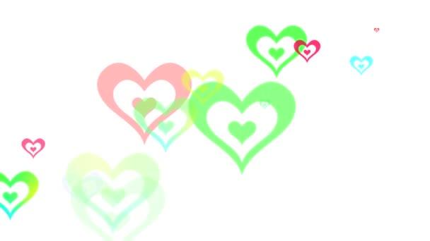 Randon Hearts Loop HD