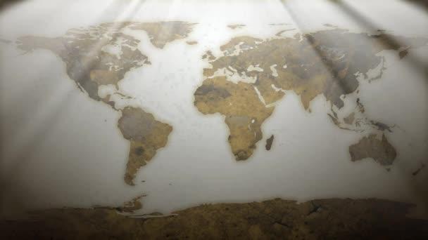 rezavý svět mapa