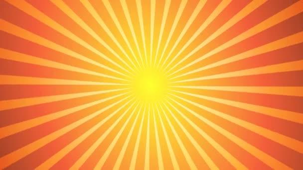 Sunburst vektor vissza