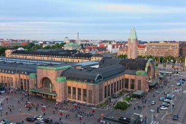 Helsinki railway station.