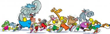 Who runs faster