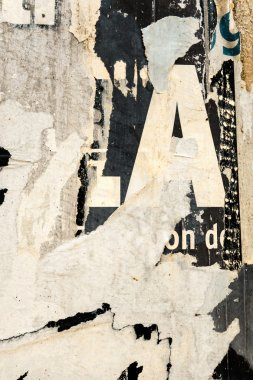 Old posters grunge textures