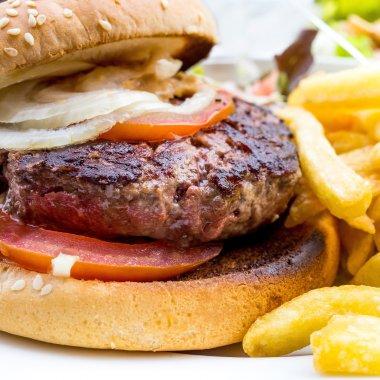 Cheese burger - American cheese burge