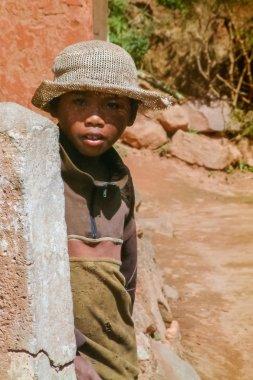 Malagasy young boy