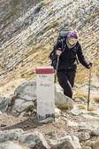 Aktivní ženy na horské stezce - Tatry