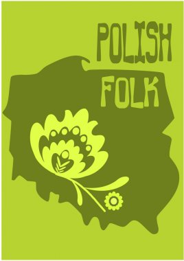 Polish folk - vector illustration.