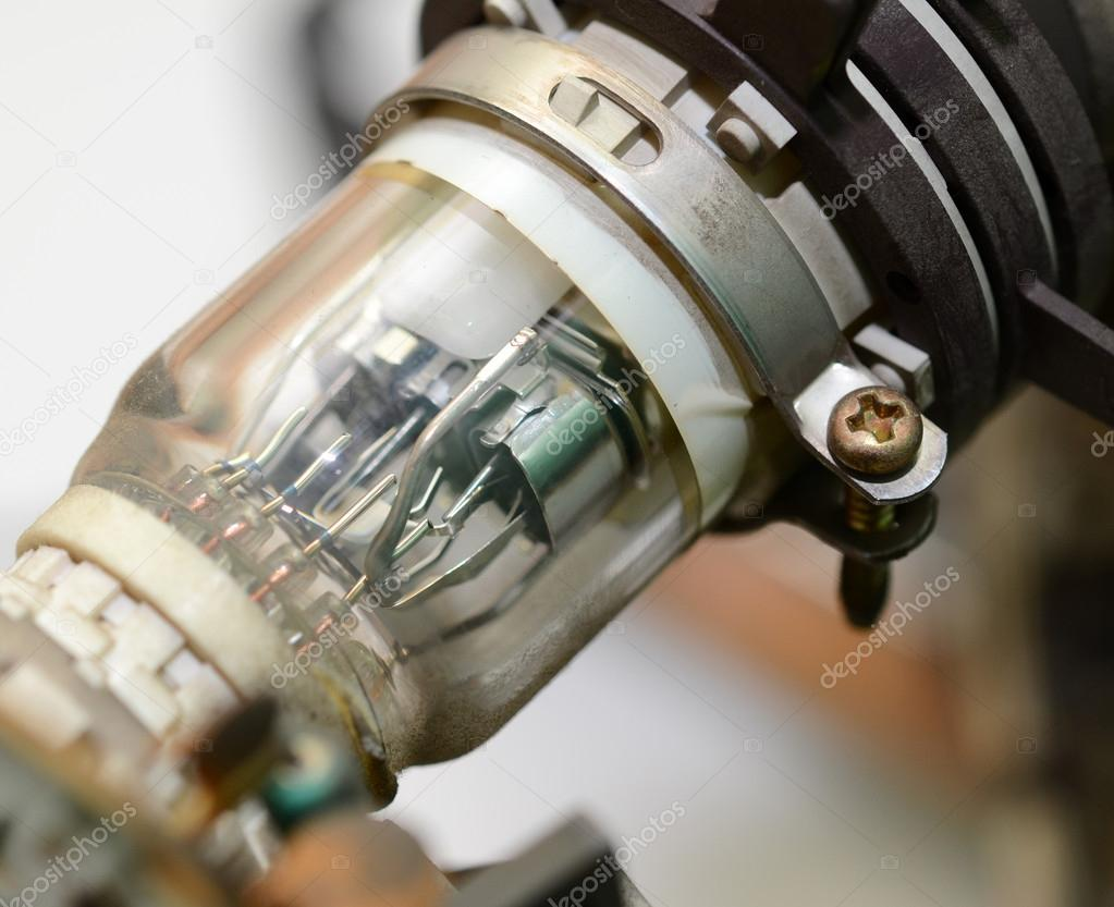 Cathode Ray Tube Stock Photo Ensuper 13963009 Crt Old Television Inside Close Up By