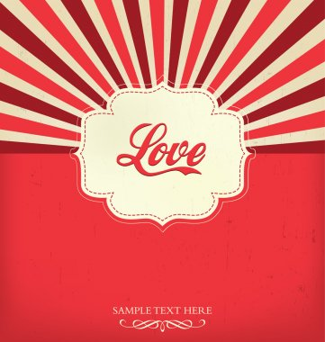 Love - Valentines Design Template