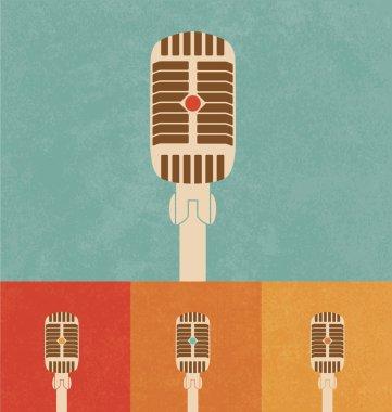 Retro Icons - Microphone