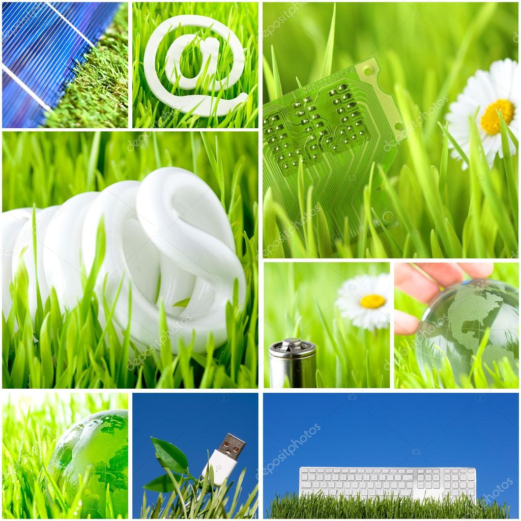 Environment and green energy concept