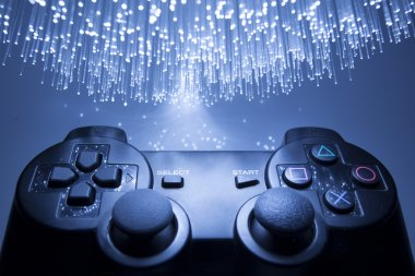 Game controller and blue light