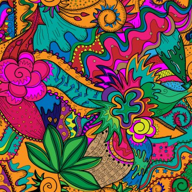 Vector drawing likes as stoner art