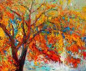 Fotografie podzimní strom