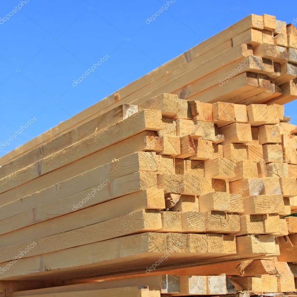 Edging board in stacks
