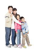 Teljes hossza boldog ázsiai család