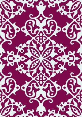 Seamless arabesque damask background