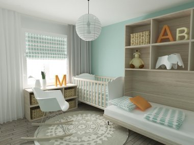Nursery home interior