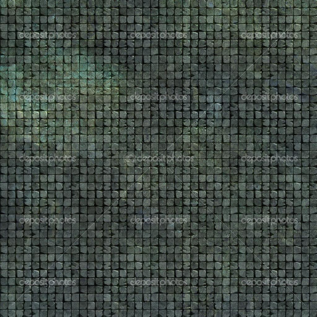 3D Fliesen Wand Mosaikboden In Grau Grün Blau Grunge Stein U2014 Stockfoto  #17819977