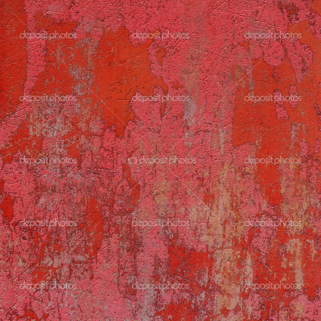 Rot Rosa 3d Abstract Grunge Ebene Wand Streichen U2014 Stockfoto